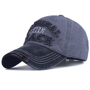 erkekler kadınların Gorras gündelik Casquette Letter nakış siyah kap için Xthree sıcak bir retro beyzbol şapkası monte kap snapback şapka