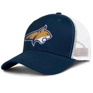 Montana State Bobcats footall logo for men and women adjustable trucker meshcap golf cool team trendy baseballhats Core Smoke Gay pride