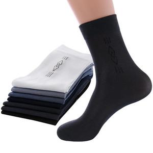 5pairs Erkekler Çorap Yüksek Kaliteli İş Casual Erkek Kısa Çorap Yaz Sonbahar SThin Şeffaf Dayanıklı Nefes Çorap Meias