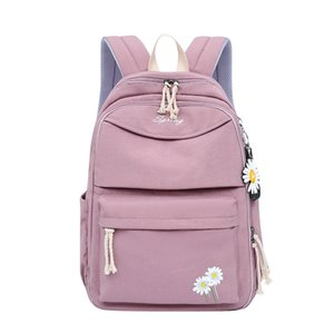 New Korean and Japan Style Girls Backpack College School Students Book Bag High Travel Daisy Middle Women Outdoor