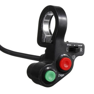 Motorcycle Atv Pit Bike Horn Lights Turn Signals Switch Onoff Button
