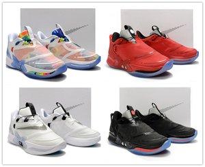 Новые Адаптировать BB 2.0 Tie-Dye Chicago Red Oreo White Mens Basketball Дизайнерская обувь без авто-шнуровки Мужчины спортивной обуви с коробкой