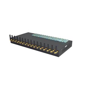 Dispositif SMS Blaster 16 ports hautes performances Passerelle SMS CDMA WCDMA GSM avec rotation dans 128 canaux avec prise en charge logicielle gratuite