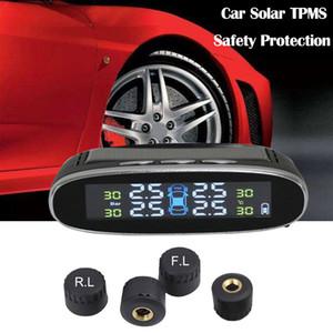 4 개의 외부 감지기 TPMS에 무선 태양 위탁 차 TPMS 타이어 압력 감시 체계 HD 디지털 방식으로 LCD 디스플레이 자동 경보