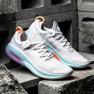 Nike Joyride Run Flyknit نزهة حك أحذية سياقة المتعة تشغيل FK الرجال الاحذية جامعة الشراع الأبيض الأحمر الثلاثي اسود ابيض كورال رجل مدرب حذاء رياضة