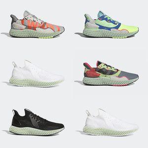 2019 Adidas New Consortium ZX 4000 FutureCraft 4D Scarpe da corsa uomo Uomo BD7931 zx4000 Designer Trainer Sport Sneakers Taglia 36-45