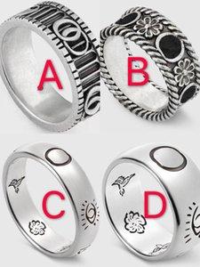 925 Echtsilberring Briefmarken Ringe moissanite bague für Männer und die Frauen-Partei Modeschmuck für cuples Liebhaber Geschenk