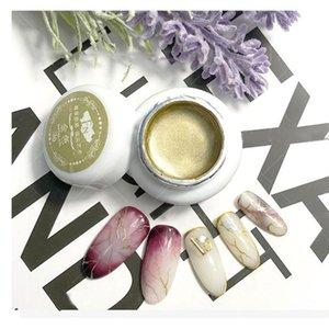 Nail Glitter Mirror Powder Plastic Gold Silver Beautify Nails Accessories Metal Nail Polish Glue Glitters Pigment For Uv Gel New