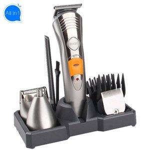 Barber Clippers All-in-1 Schabmaschine Haarschneider Bart Trimer für Männer aufladbaren Schichtentfernungs Groomer Körper Rasierapparat Stoppeln Trimmers
