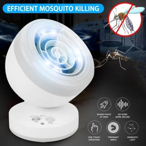 360 ° Rotate USB Electrical Degree Shaking Head Mosquito Lamp No Noise, No Radiation Can Kill Insects Household Mosquito Lamp