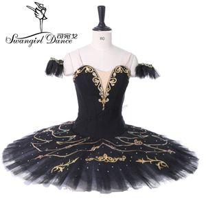 cisne negro mulheres tutu profissionais competiton ballet traje do estágio desempenho tutu traje BT9295