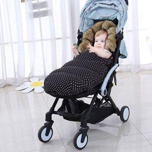 Passeggino pelo caldo sacco invernale Sleepsacks Robe infante appena nato Sacco imbottito Per Yoya più VOVO YUYU