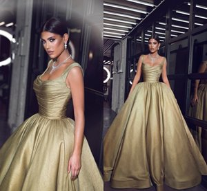 Plus Size Sexy Champagne Ball Gown Quinceanera Dresses Backless Spaghetti Straps Pleats Prom Dresses Vestidos 15 ano Quinceanera Gowns