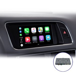 Joyeauto Drahtlose Apple-Carplay KFZ-play-Smart-Box Interface für Audi 2010-2016 A4 A5 Q5 MMI 2010-2011 A6 A7 A8 Q7 c6 Airplay Android-Spiegel