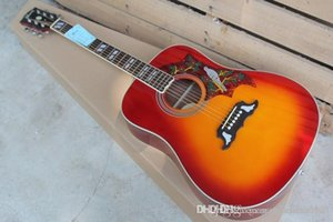 무료 배송 핑거 벌새 DOVE 41 인치 어쿠스틱 기타 FISHMAN 기타를 추가 할 수 있습니다 로즈 우드