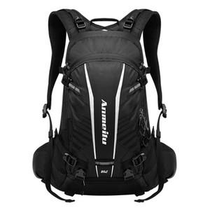 Impermeável mochila de bicicleta, 20L grande capacidade mochila MTB bicicleta ao ar livre para os homens, Ciclismo hidratação mochila mochila capa de chuva