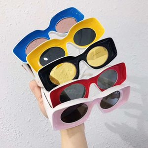 2020 New Catwalk Sunglasses Funny Glasses for Men & Women Colorful Frame Sunglasses Daily Accessories Gifts 5 Colors