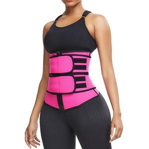 ABD Stok Artı boyutu Vücut Şekillendirici Bel Eğitmen Kuşak Kadın Doğum sonrası Göbek Zayıflama İç Giyim Modelleme Kayış Shapewear Karın Spor Korse