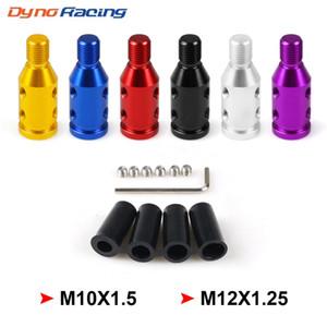 Pour M10x1.5 / M12x1.25 fil voiture Manuel changement de vitesse Bouton Adaptateur en alliage d'aluminium