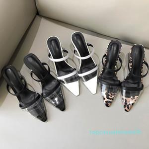 Горячая распродажа-женщина 2019 весна новая мода смешанные цвета малыш замша квадратный носок женские тапочки снаружи высокие шиповые каблуки дамы sheos t06