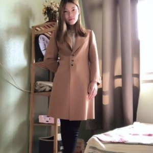 2020 Women Clothes Long Trench Coat Korean Fashion Womans Windbreaker Spring Autumn Plus Size White Lapel Single-breasted Coats