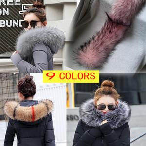 크리스마스 선물 겨울 여성의 모피 케이프 스카프 겨울 따뜻한 모피 칼라 멋진 액세서리 어깨 걸이 겨울 선물 Faux Fox Fur new