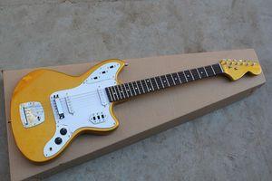 Frete grátis 2020 New Arrival Top Quality Fábrica Golden Guitar JAGUAR Custom Shop guitarra elétrica Stratocaster Em armazém