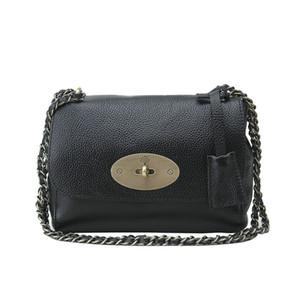 Borsa da donna lady ms singola tracolla portatile baotou strato di pelle bovina una spalla indossata borsa in pelle nuova catena bag