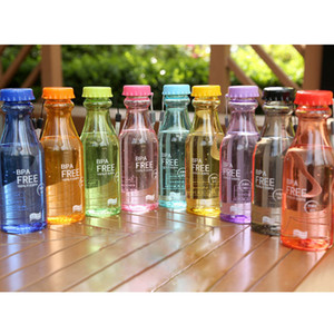 9 colors 550ml Top Grand water bottle Bpa Free Cycling cups Bicycle Bike Sports Unbreakable Plastic Water Bottle EMS BJY695