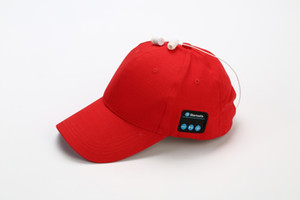 Mais recente Homens Mulheres Bluetooth Headphone Cap sem fio Sports fone de ouvido Hat Bluetooth V4.1 Música Hat Cap Speaker Fones chapéus de basebol