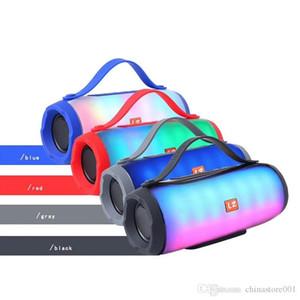 Speaker E17 Беспроводная Bluetooth Динамики LED USB Light TF BT FM-радио Сабвуфер Открытый Портативный Pill XL Party Good Big Sound High Quality