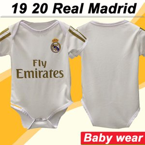 2019 2020 Real Madrid Baby-MODRIC Fußballjerseys New SERGIIO ISCO RAMOS KROOS BENZEMA MARCELO Home Fußball Shirts BALE Infant Uniforms2019