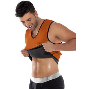 اللياقة البدنية المدرب تحكم مشد الترا عرق الرجال النيوبرين الصدرية ملابس داخلية للتنحيف الخصر مدرب هيئة صائغي