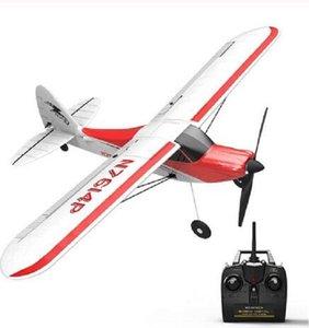 Volantex الرياضة الشبل 500 761-4 500MM طول الجناح RC طائرة 4CH واحدة مفتاح استعراضات الجوية المبتدئين المدرب RTF بنيت في 6 محور الدوران RC اللعب