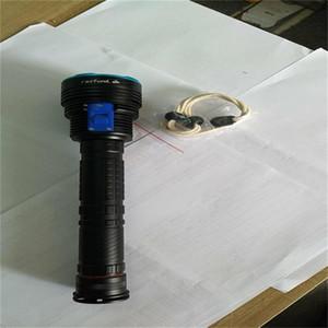 Nuovo UV 9x LED ad alta potenza torcia elettrica sommergibile torcia elettrica impermeabile ai raggi UV a 100 metri sott'acqua torcia viola luce Lant lampada a raggi ultravioletti