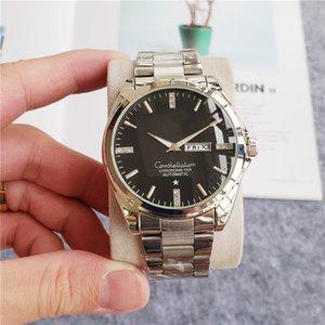 Venta al por mayor al por menor del relogio masculino mens relojes OMG wist la moda Negro Dial Con broche plegable Maestro Masculino 2020 relojes de cuarzo