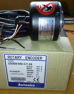 Encoder originale Autonics E50S8-500-3-T-24 Spedizione gratuita Nuovo in scatola