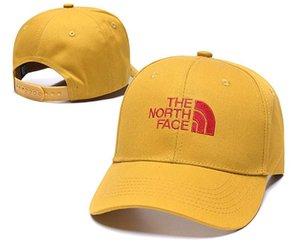 Célèbre mode Nord luxe Visage Chapeau Chapeau de papa Hiphop Golf Polose Casquettes de base-ball pour hommes et femmes Chapeau de sport casquette Cap DropShipping
