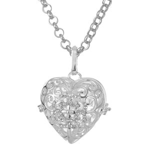 New Free Shipping silver plated fashion Jewelry Pendant Fine Fashion Cute Silver Heart Necklace Pendants