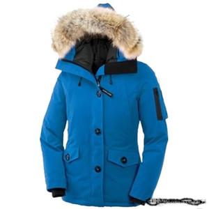 Erkekler Kadınlar Klasik marka Casual Aşağı Ceket Parlak mat Aşağı Palto Erkek Açık Kürk Yaka Sıcak Tüy Unisex Kış sıcak Coat dış giyim