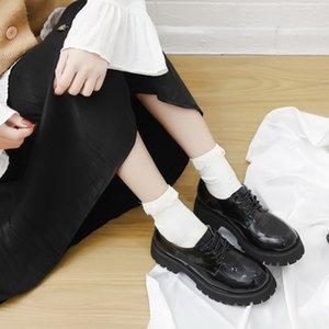 Fashion Forward británica mujeres zapatos casuales zapatos Primavera Mujer Nueva Tendencia plano del ocio de la plataforma Zapatos Mujer 35-40 Oxford FS308