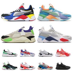 pumarsx rs-x rahat ayakkabı erkekler kadınlar tasarımcı Oyuncak Reinvention üçlü siyah şeftali Trophy eğitmenler moda lüks spor ayakkabılar