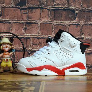 Nike Air Jordan 6 Bambini 4 6 Scarpe da basket All'ingrosso Nuovo 1 spazio marmellata J4 J6 6s Sneakers per bambini Sport da corsa ragazza ragazzo scarpe da ginnastica