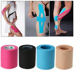 Roll Tape Elastic Kinesiology Tape Athletic Recovery Sports Safety Muscle Pain Relief Knee Pads Support Gym Fitness Bandage