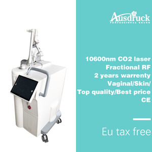 Eu tax free DHL shipping 40W narrow Vaginal tightening fractional co2 laser 10600nm acne scar skin rejuvenation machine