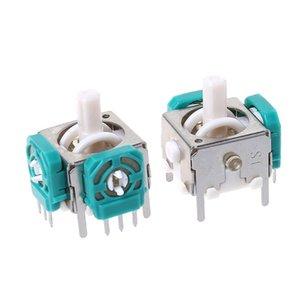 5PCS 3D Analog Joysticks Sensor Módulo vara Replacement Repair Parts Jogo Acessórios para Nintendo NGC GameCube