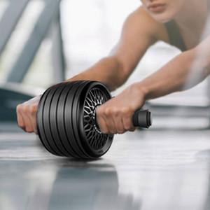 Novo 2 em 1 Ab RollerJump Corda nenhum ruído Abdominal Roda Ab rolo com Mat para o braço cintura Leg Exercício Gym Fitness Equipment