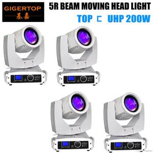 TIPTOP 4 Einheiten Sharpy Leier Breite 200W 5R bewegliches Hauptlicht LED-Anzeigeschirm-Beam-200 Strahlen 5R Bühne Disco Lights TP-5R