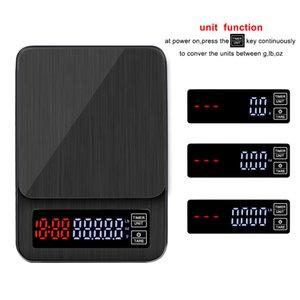 Nueva caliente la mano del hogar venta hecha 0,1 g de carga inteligente con cocina cuenta regresiva escala de café escala USB escala de café