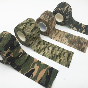 Camouflage Waterproof Adhesive Tape Rifle Chasse Hunting Accessories Hiking Camping Army Army Camo Bionic Wrap Outdoor New
